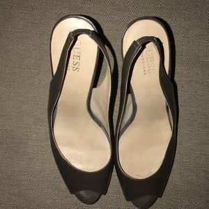 Guess by Marciano Peep-Toe Sling back Pump Sz. 8.5